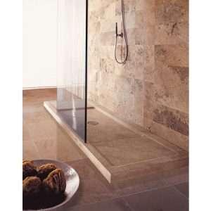 Travertin zuhanytálcák